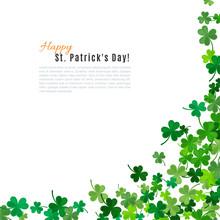 St Patrick's Day Background. Illustration