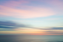 Blurred Defocused Sunset Sky A...
