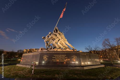Fotografie, Obraz  United States Marine Corps War Memorial