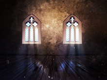 Room With Vintage Window