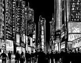 Interpretation of Times Square in New York - 109840591