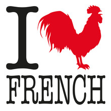 I Love FRENCH - Coq