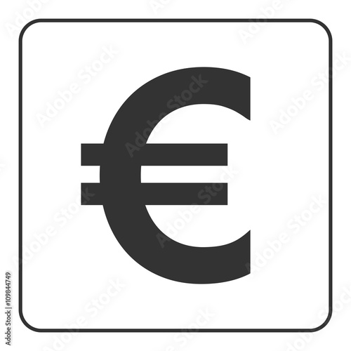 Euro Sign Symbol Of Currency Finance Business And Banking Money