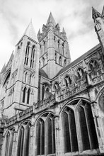 Truro Cathedral Tower South Ea...