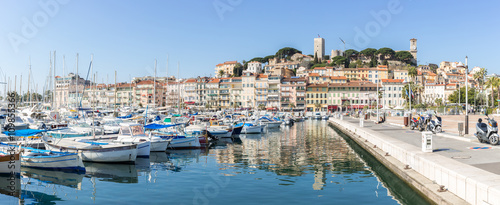 Fotografie, Obraz Cannes Old square France