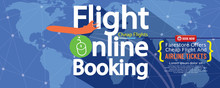 Flight Online Booking For Sale...