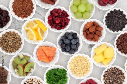 Foto auf AluDibond Sortiment Super Food