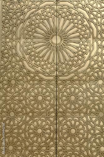 Poster Maroc golden door