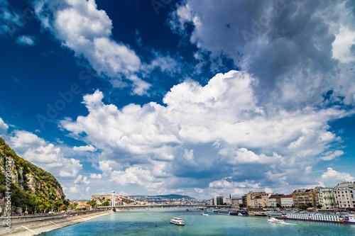 Photo Stands Algeria the sky over Budapest