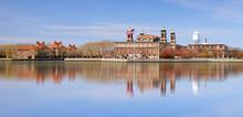 Ellis Island In New York Harbor