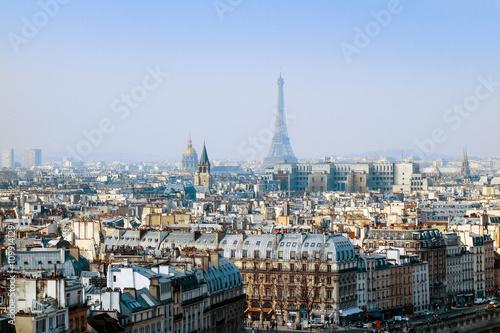 Garden Poster Paris The Eiffel Tower (nickname La dame de fer, the iron lady),The to