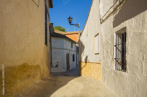 Fototapety, obrazy: Spanish town Montesa