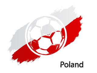 Obraz na Szkle football_icon_Poland