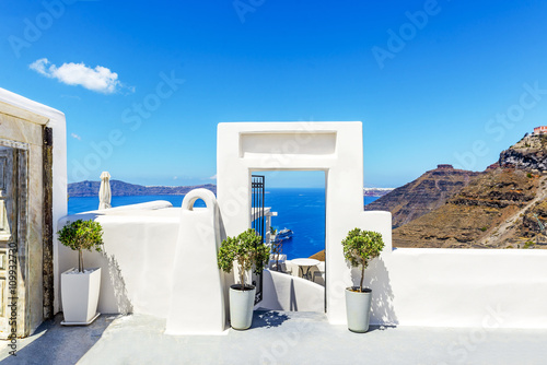 Papiers peints Santorini Architecture in Santorini, Greece