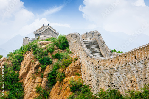 Papiers peints Muraille de Chine Beautiful scenery of the Great Wall, China
