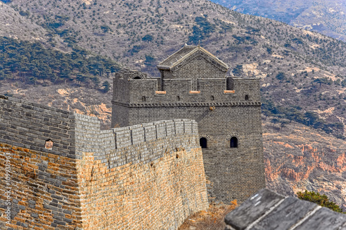 Papiers peints Muraille de Chine Big watchtower of the China Great Wall