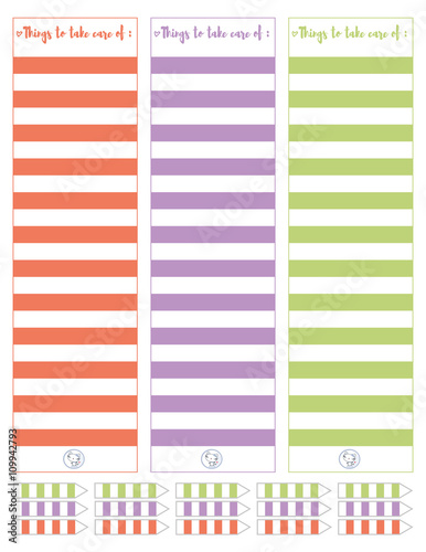 photograph about Printable Notepads known as Notepads Fixed Minimalistic,Flat Structure.Printable planner