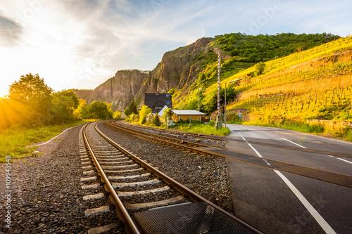 Valokuva  Schienenverkehr