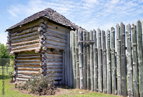 Photo  Old Timber Fort.