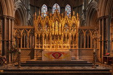 An Altar At Ely Cathedral