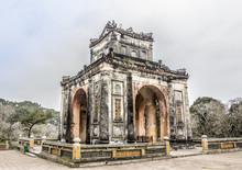 Pavillon At Tu Duc Tomb
