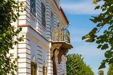 Openwork Metal Balconies Of Th...