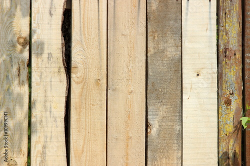 bright wooden old fence boards - Buy this stock photo and