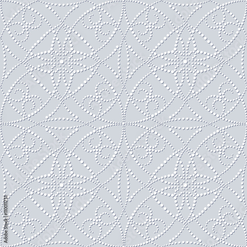 Fotografija  Seamless embossed pattern