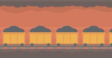 Background Of Underground Tunn...