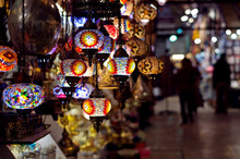 Traditional Lamps At  The Gran...