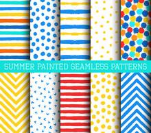 Summer Painted Patterns Set