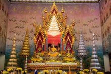Buddha Statue At Wat Pho Chai  ,Nong Khai Thailand