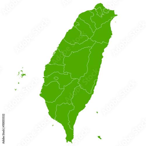 Fotografía  台湾 地図 国 アイコン