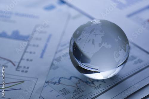 Fotografie, Obraz  Business concept, blue tone
