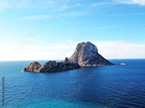 Magic rock of Ibiza. Es Vedra and es vedranell