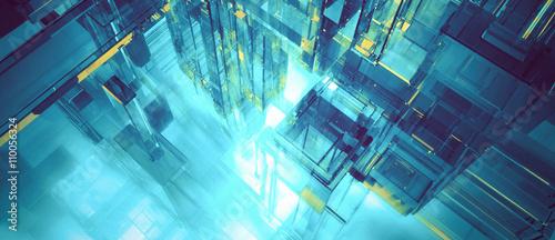 Futuristic banner - 110056324
