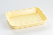 Empty Food Tray On White Background