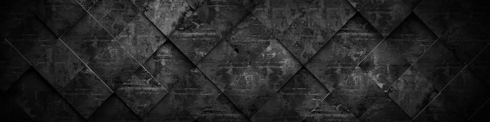 Extra Dark Background (Website Head) 3D Rendering