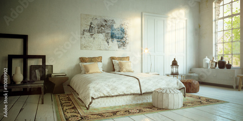 Romantisches Schlafzimmer In Altem Loft   Romantic Bedroom In Old Loft  Apartment Downtown