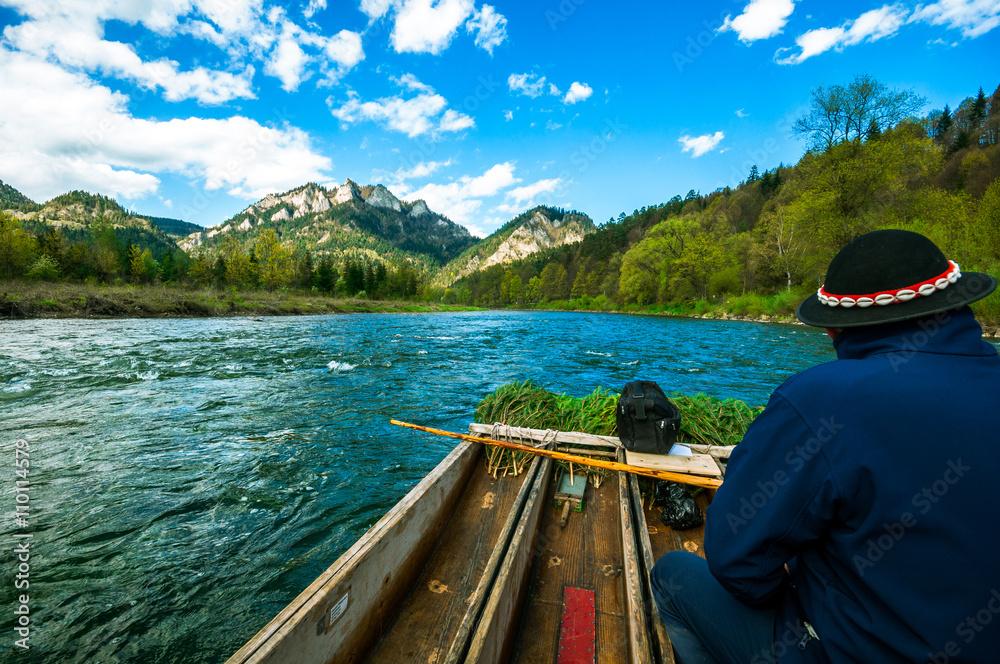 Obraz Spływ Dunajcem fototapeta, plakat
