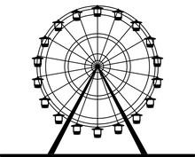 Silhouette Riesenrad