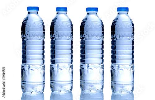 Fotografie, Obraz  Bottle of water on isolated