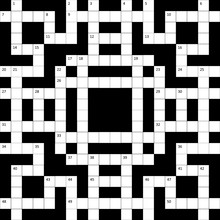 The Crossword Puzzle Grid With...