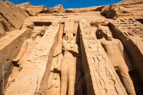 Fototapeta  Temple of Nefertari, Abu Simbel, Egypt
