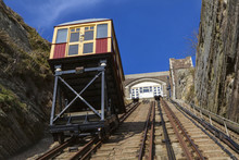 East Hill Lift Railway In Hast...