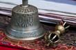 Buddhist religious Vajra Dorje and bell