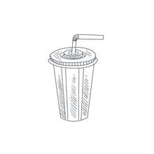 Soda Hand Drawn Sketch