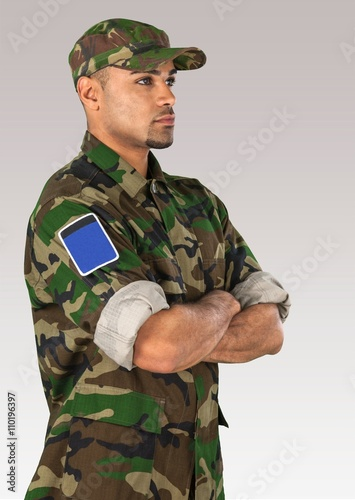 Canvas Prints Military Armed Forces.