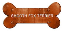 Smooth Fox Terrier, 3D Rendering, Rough Brown Dog Bone