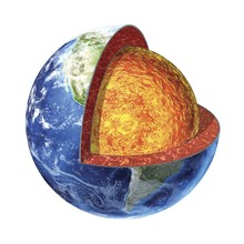 Earth's Crust Isolated Against...
